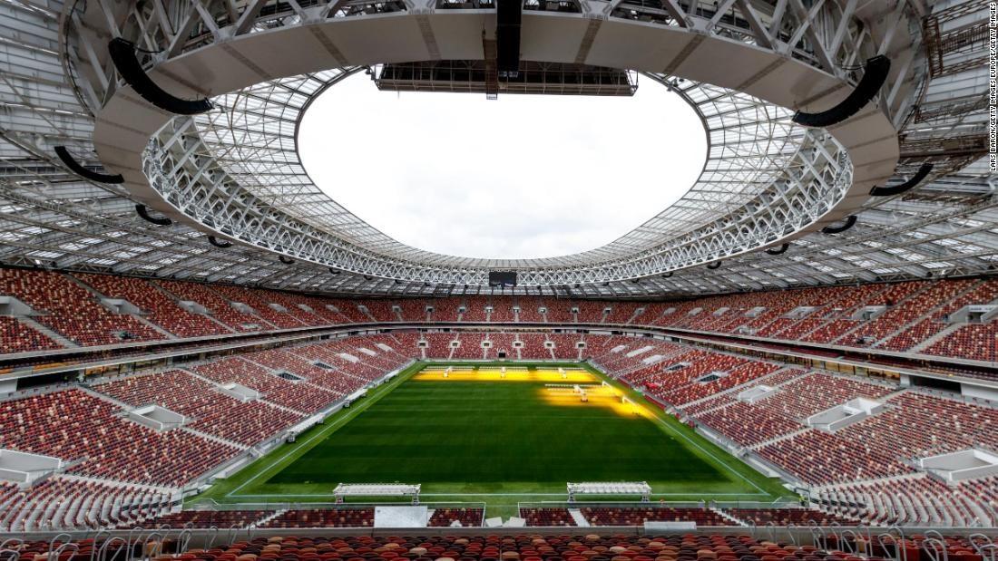 Turul stadioanelor pentru World Cup 2018