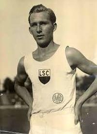 "Carl Ludwig ""Luz"" Long, Germania. Medalia Pierre de Coubertin 1964, postum, Berlin."