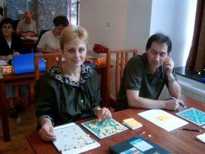 Teodora Bohbot și Arcadie Popescu