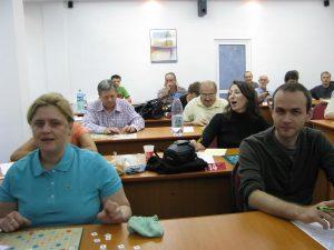 Ivon Corina Savulescu la Tabara de Scrabble Amara