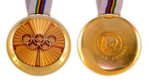 MedaliaPierre de Coubertin