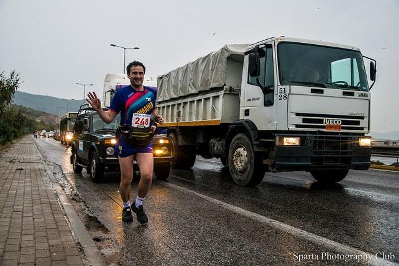 Mihai Pantis - Romania la Spartathlon 2018 Atena-Sparta, Grecia 3