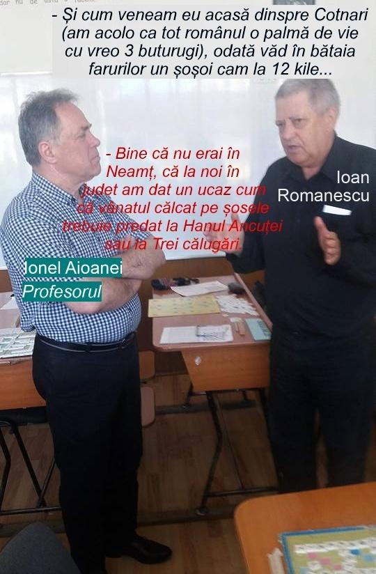 Ioan Romanescu si Ionel Aioanei