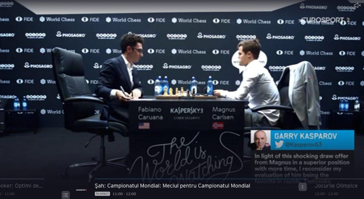 Finala Campionatului Mondial de Șah 2018