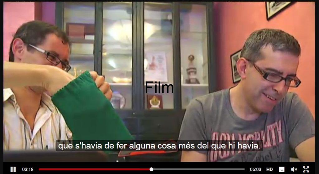 Octavian Mocanu Campion Mondial 2013 la Scrabble Catalan - film de prezentare de la Tv3
