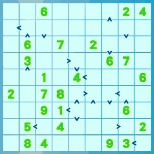 Futoshiki 9x9