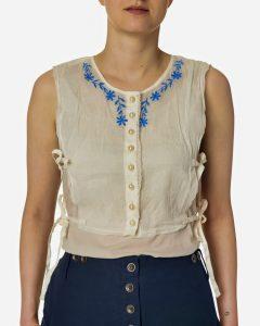 Bluza semizeta, chemisette