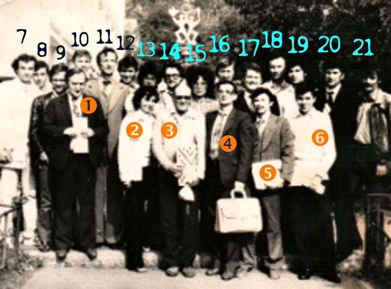 Primul turneu de Scrabble din Romania, Liceul Industrial de Chimie nr. 3 Piatra Neamt