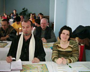 Paul si Rodica Raican la Turneul de Scrabble Voineasa 2004