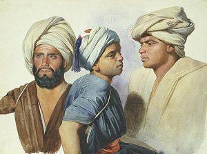 Trei felahi, pictura de Charles Gleyre