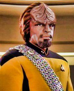 Klingonian Worf