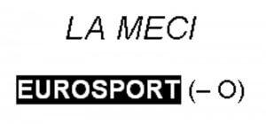 La meci. Exrcitiu de anagramare EUROSPORT-O =