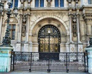 Paris Hotel De Ville Architecture Door - Hotel Deville Art Deco Art Nouveau