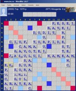 Scrabble Duplicatului de la Miezul Nopții 18 aprilie 2020