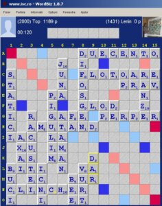 Scrabble Duplicat, Internet Scrabble Club, ISC, 3 mai 2020