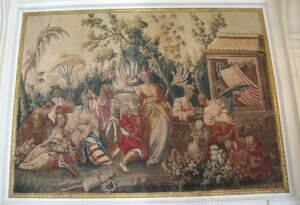Gobelins tapestry, Musée Nissim-de-Camondo, Paris, France