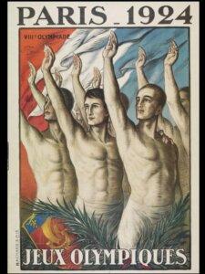 Afis Jocurile Olimpice Paris 1924