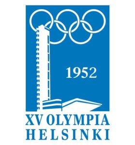 Afis Jocurilor Olimpice de vara moderne Helsinki 1952